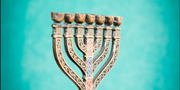 Menorah from One for Israel Ministries