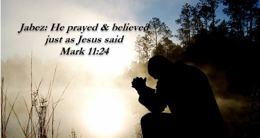 Prayer touches the heart of God