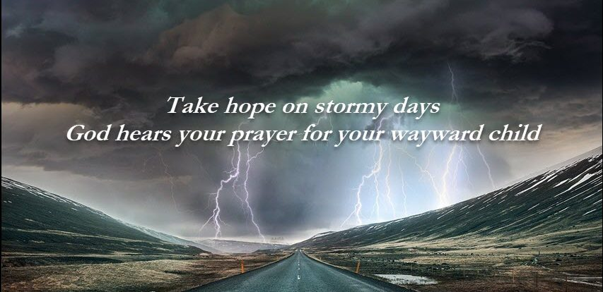 Stormy days calls for prayer