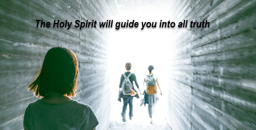 The Holy Spirit guides