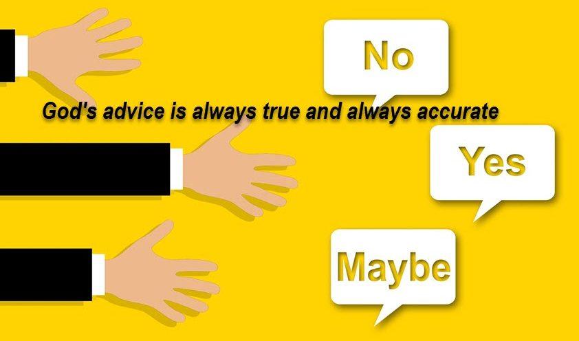Seeking God's Advice