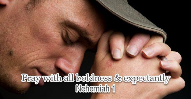 Nehemiah a man of prayer