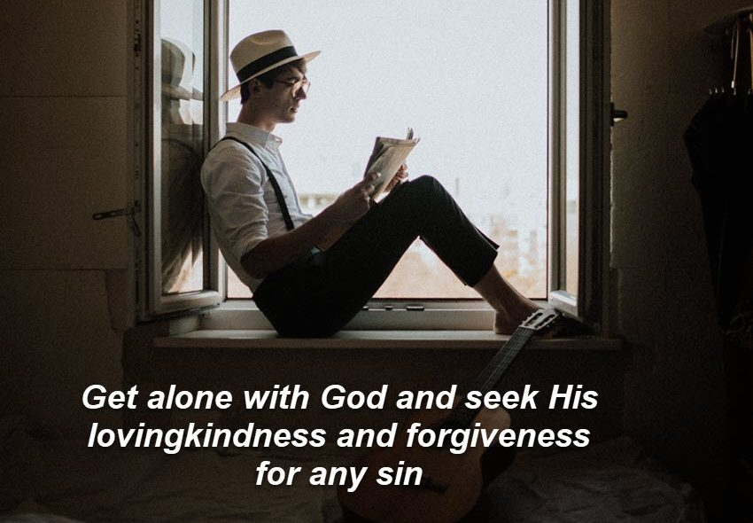Are you hiding your sin from God?
