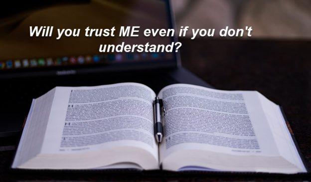 Do you trust God?