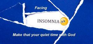 Do you face insomnia?