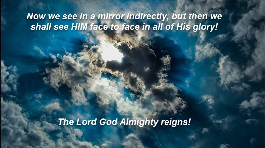 God reigns