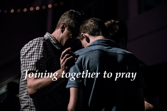 Praying for one another