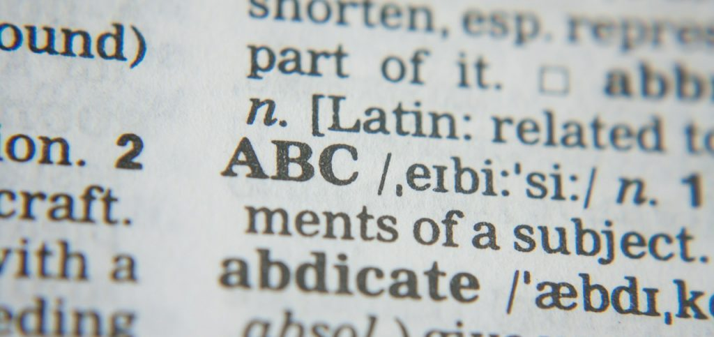 """Do you know your ABC""""s?"""