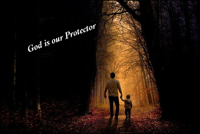 God protects His own