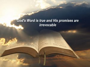 God's Word is trustworthy