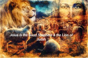 Jesus is both shepherd and lion