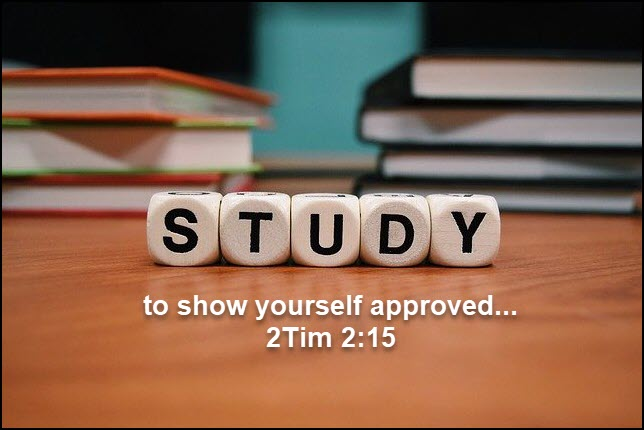 Study to know God's Word