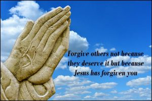 Forgiveness is the greatest tool we have