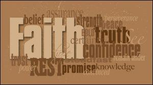 faith is....