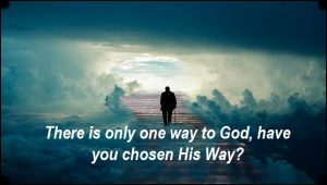 There are not multiple ways to God..only one