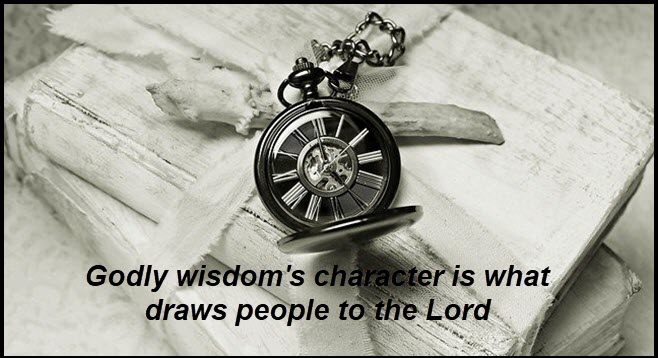 wisdom is from the Lord