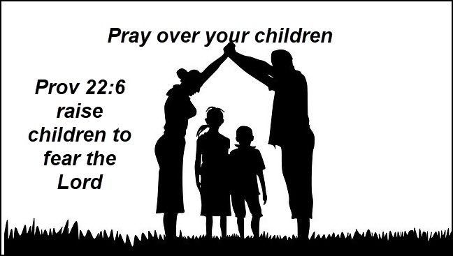 Pray over your children