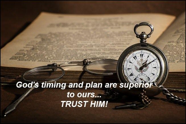 Trust God not Satan