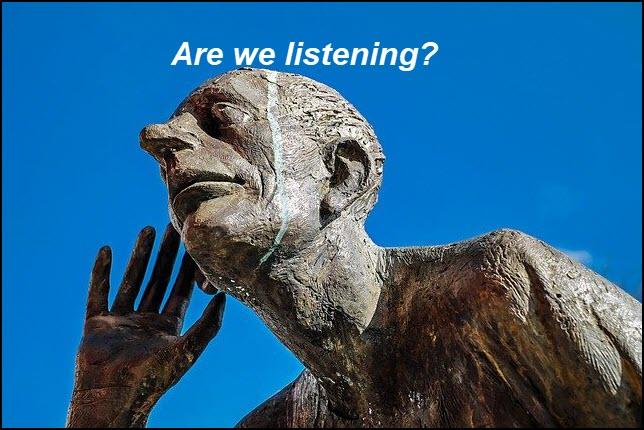 Are we listening