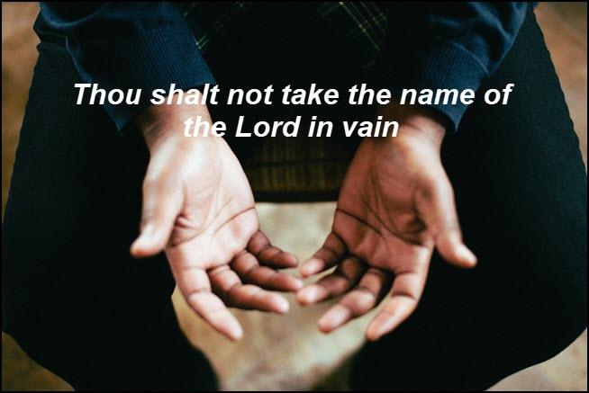 Do I honor God's name?