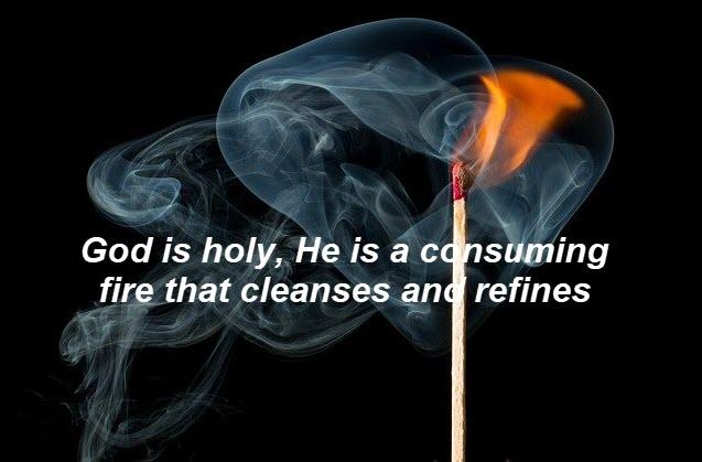 God is a jealous God, he tolerates no other god