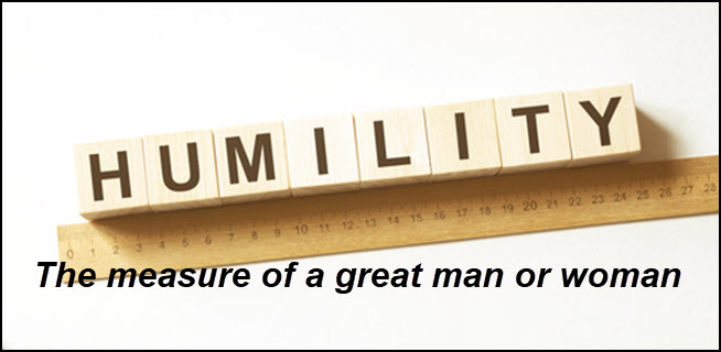 The greatness of a man/woman