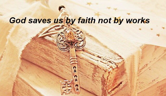 Salvation is God's gift