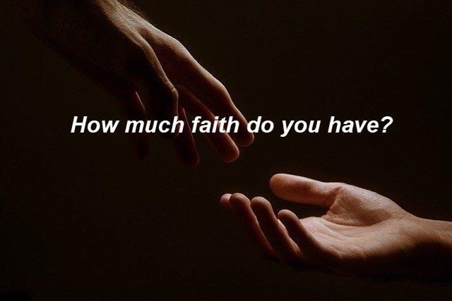 Do you believe God?
