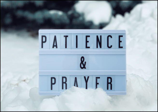 be patient or retaliate--- it is up to you