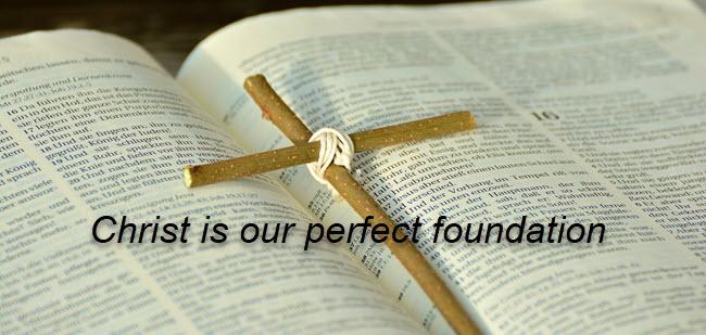 Christ i sour perfect foundation