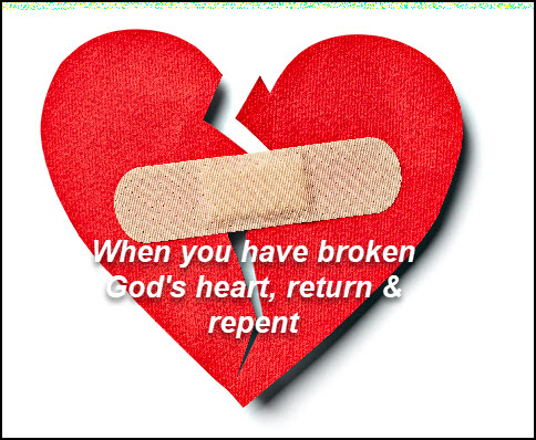 Return and repent