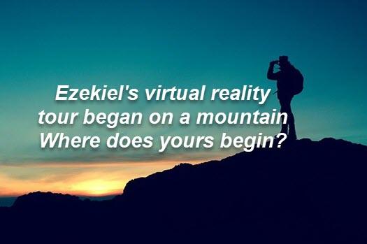 The virtual reality tour