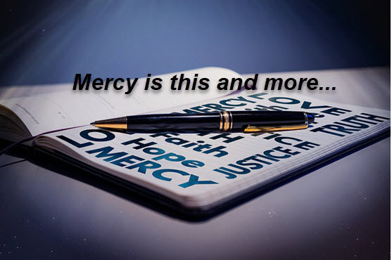 This is mercy